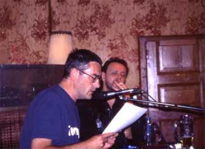 Lesung: Bert Papenfuss & Ronald Galenza